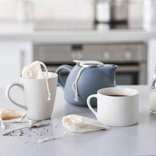 Eco Living Reusable Organic Cotton Tea Bag