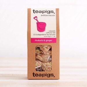 Teapigs Plastic Free Rhubarb & Ginger Tea Bags