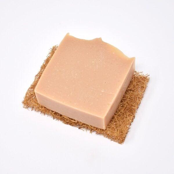 Safix Coconut Coir Soap Rest With Soap