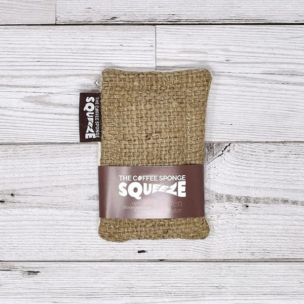 Rowen Stillwater Heavy Duty Squeeze Sponge Coffee In Packaging