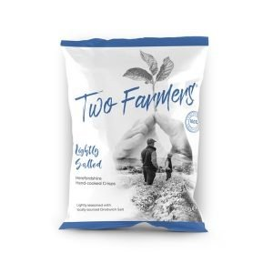Two Farmers Plastic Free Lightly Salted Herefordshire Crisps