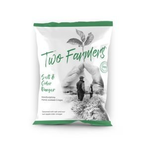 Two Farmers Plastic Free Salt & Cider Vinegar Herefordshire Crisps