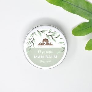 Peace With The Wild Organic Unscented Man Balm Tin