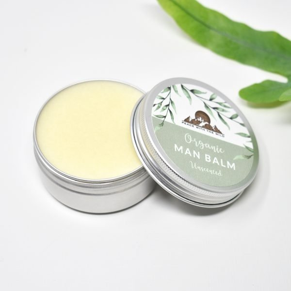 Peace With The Wild Organic Unscented Man Balm