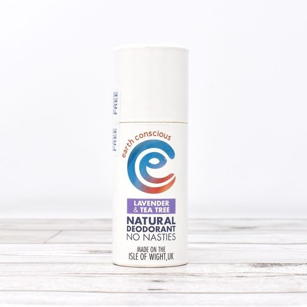 Earth Conscious Lavender & Tea Tree Natural Deodorant Stick