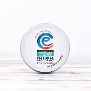 Earth Conscious Peppermint & Spearmint Natural Deodorant Tin