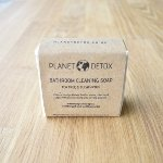 natural bathroom cleaning soap bar