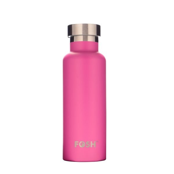 Fosh Flamingo Pink Triple Insulated Stainless Steel Water Bottle
