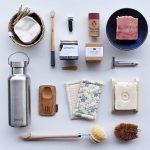 plastic free, bathroom essentials, soap bars, stainless steel drinks bottle,