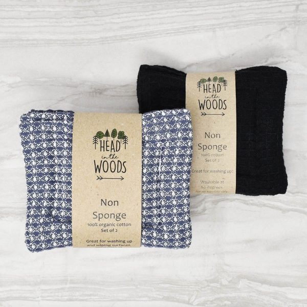 Head In The Woods Cotton Non Sponge 2 Pack