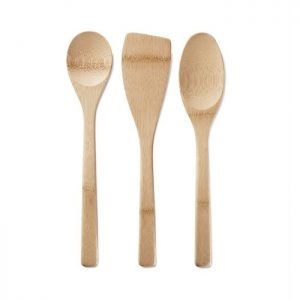 Bambu Bamboo Kitchen Basics Set of 3 Utensils