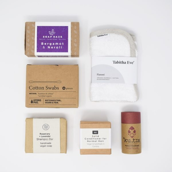 Lavender Bathroom Eco Kit