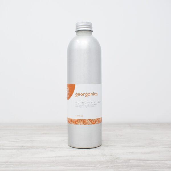 Georganics Oil Pulling Mouthwash – Red Mandarin