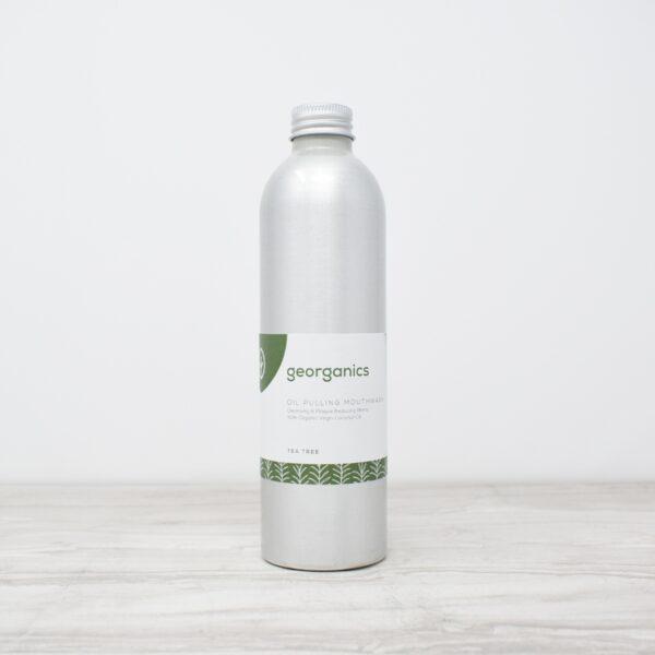Georganics Oil Pulling Mouthwash – Tea Tree