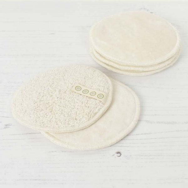 A Slice of Green Organic Cotton Facial Pads Pack of 5