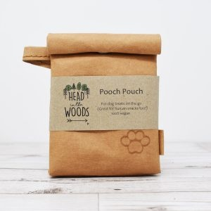 Head In The Woods Pooch Snack Pouch