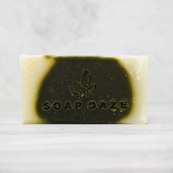 Soap Daze tea tree and spirulina Soap Bar , vegan-friendly, natural, plastic-free, soap bar,