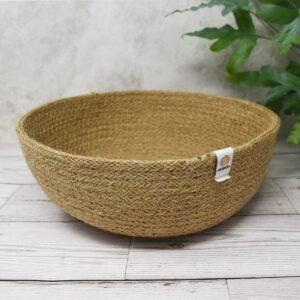 ReSpiin Natural Large Jute Basket