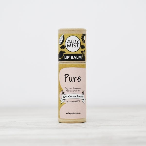 Valley Mist Pure Beeswax Lip Balm