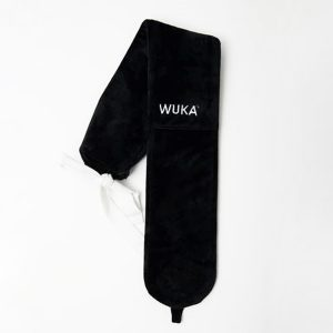 WUKA Natural Rubber Hot Water Bottle with Fleece Cover