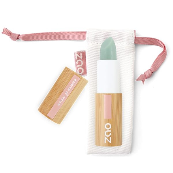 Zao Lip Scrub Stick And Bag
