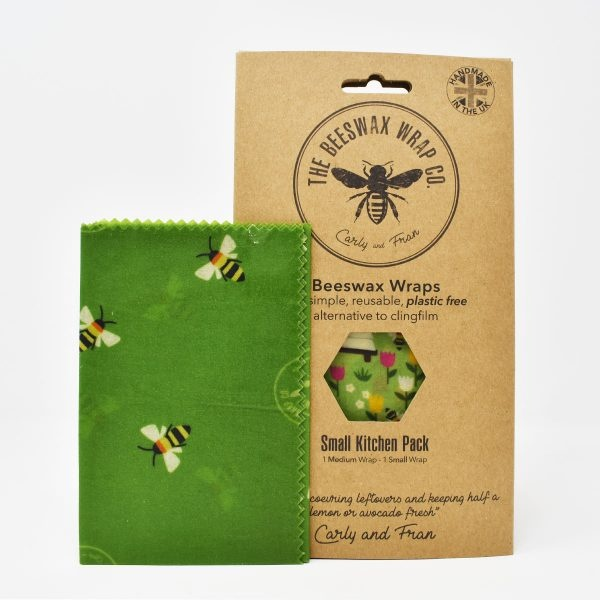 The Beeswax Wrap Co Beeswax Wraps Small Kitchen Pack Land Print