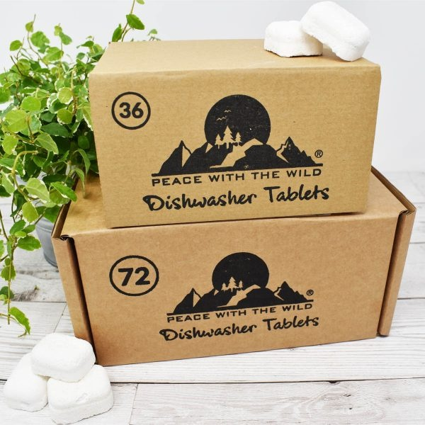 Peace With The Wild Eco-Friendly Dishwasher Tablets