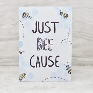 Stefanie Lau Eco-friendly Greetings Card Just Bee Cause