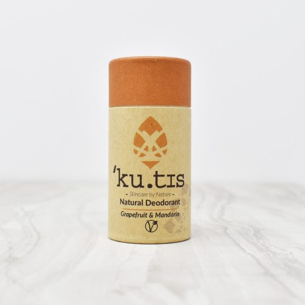 Kutis Grapefruit & Mandarin Natural Deodorant Stick