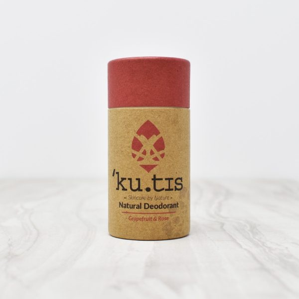 Kutis Grapefruit & Rose Natural Deodorant Stick