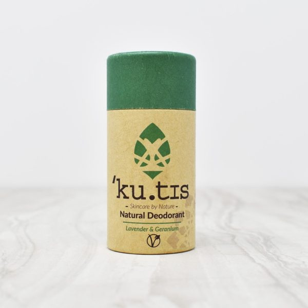 Kutis Lavender & Geranium Natural Deodorant Stick