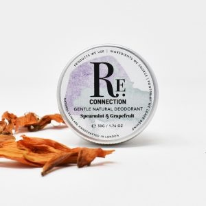 re:connection Spearmint & Grapefruit Natural Deodorant Tin