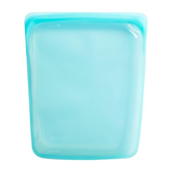 Stasher Aqua Silicone Half Gallon Bag