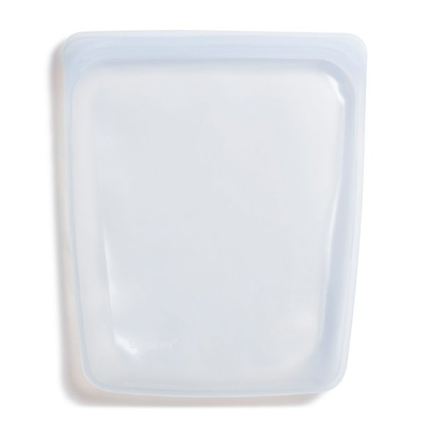 Stasher Clear Silicone Half Gallon Bag