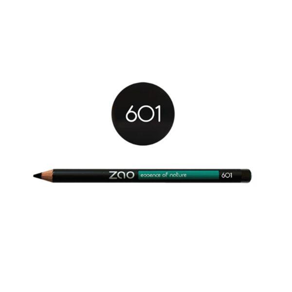 Zao Black Eye Pencil 601 Shade