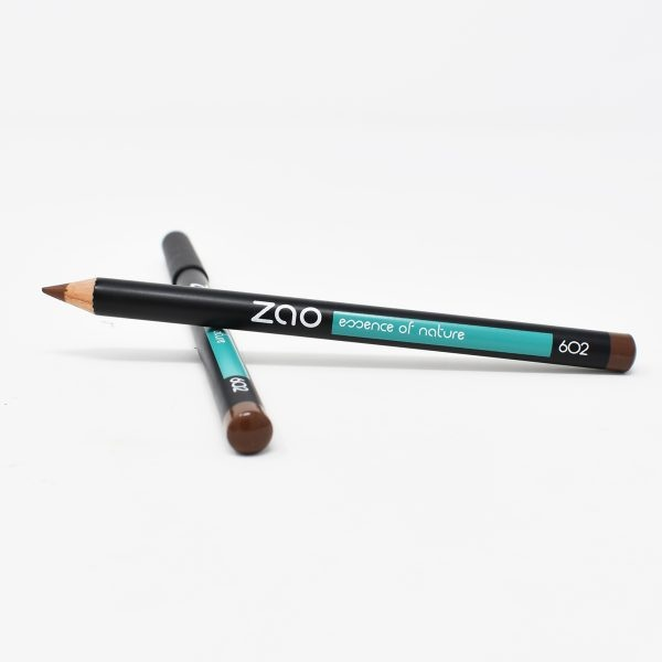 Zao Dark Brown Eye Pencil With And Without Lid