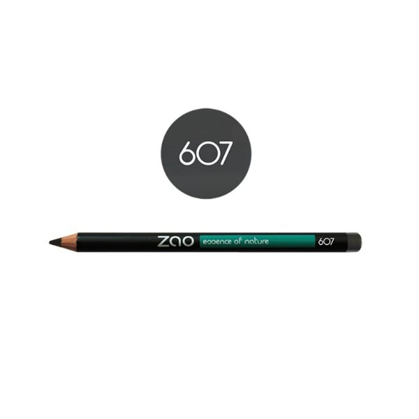 Zao Taupe Grey Eye Pencil 607 Shade