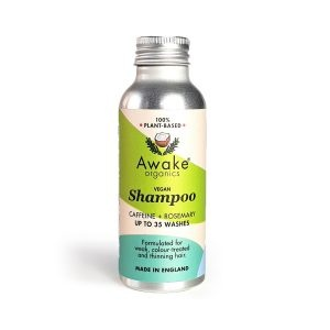 Awake Organics Plant Based Natural Shampoo Powder Bottle