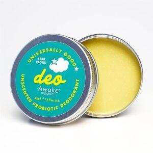 Awake Organics Star Cloud Natural Deodorant Tin