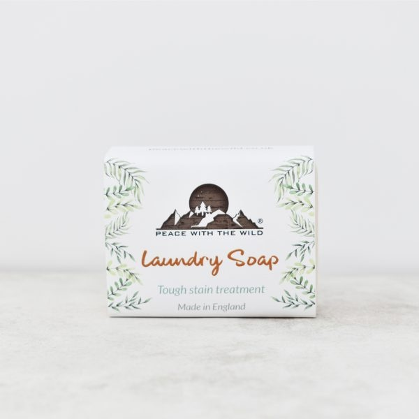 Peace With The Wild Laundry Soap Bar Tough Stain Treatment