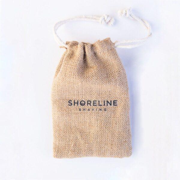 Shoreline Shaving Hessian Travel Bag