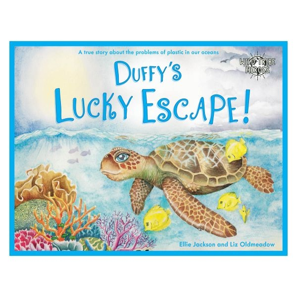 Wild Tribe Heroes Duffy's Lucky Escape Sustainable Children's Book