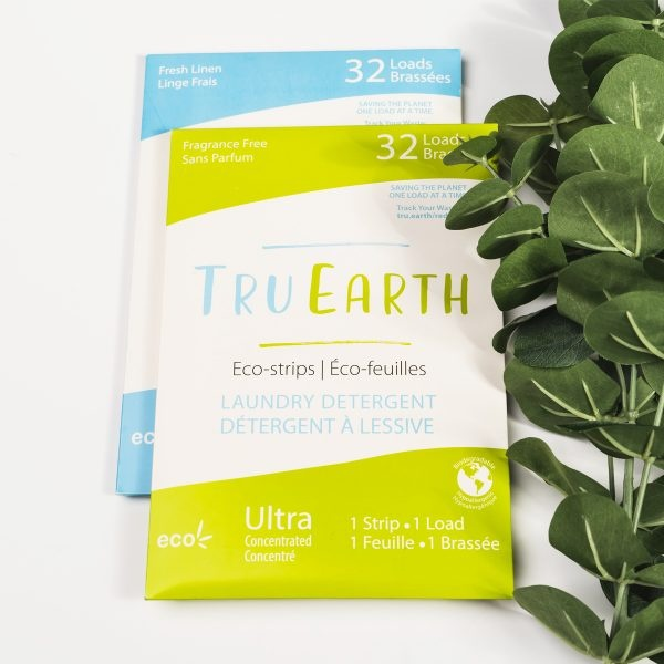 Tru Earth Fresh Linen & Fragrance Free Laundry Eco-Strips