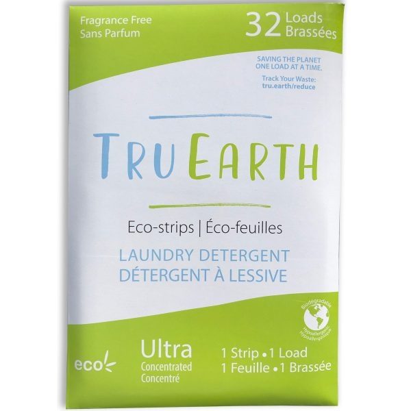Tru Earth Fragrance Free Laundry Eco-Strips