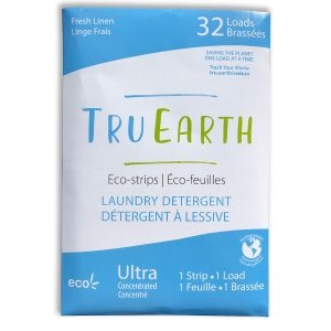 Tru Earth Fresh Linen Laundry Eco-Strips