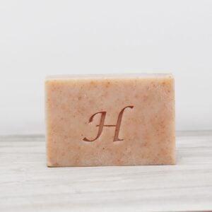 Hatton Soap bar, Peppermint foot scrub soap bar, foot scrub soap bar, vegan friendly, plastic-free,