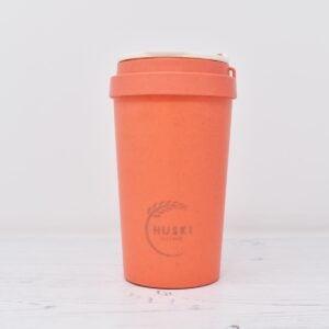 Huski Small Coral Rice Husk Coffee Cup