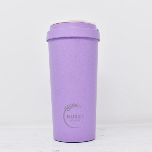 Huski large Violet Rice Husk Coffee Cup