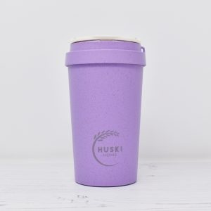 Huski Small Violet Rice Husk Coffee Cup