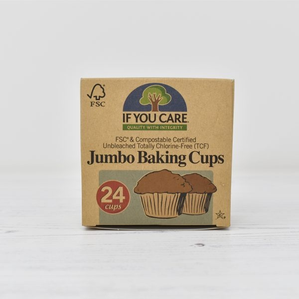 If You Care Compostable Jumbo Baking Cups